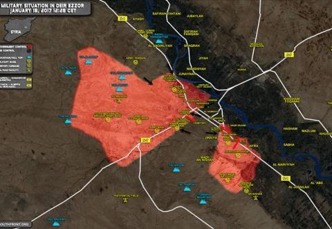 Quân đội Syria giữ được sân bay Deir Ezzor khỏi cuộc tấn công dữ dội của khủng bố.