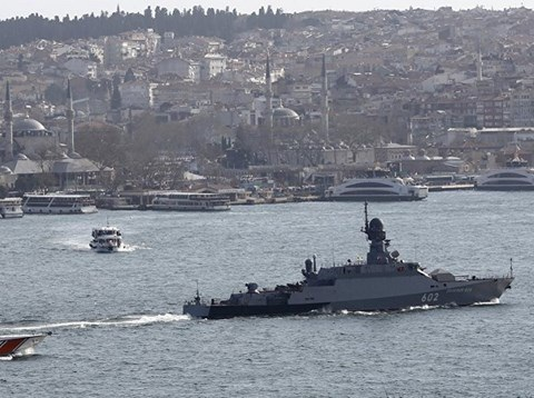 Nga cho thấy sự tập trung chú ý vào căn cứ hải quân Tartus ở Syria