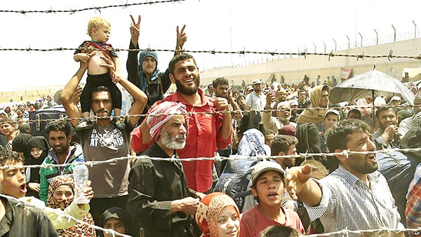 Người tị nạn Syria ở Thổ Nhĩ Kỳ. Ảnh: Sustainability.