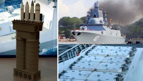 Tàu hộ vệ hạng nặng Project 22350, lớp Đô đốc Gorshkov được trang bị vũ khí mạnh nhất thế giới