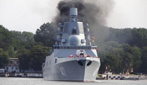 Tàu hộ vệ Project 22350, lớp Đô đốc Gorshkov được Nga thay thế động cơ quốc nội