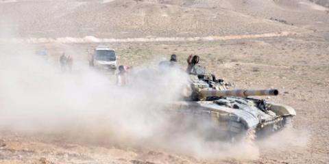 Quân đội Syria tấn công mạnh vào Damascus