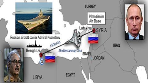 Putin sẽ biến Địa Trung Hải thành cửa nhà.
