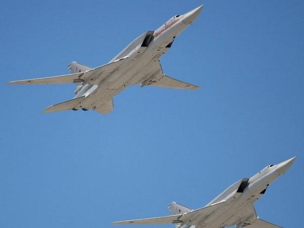 Máy bay ném bom tầm xa Tu-22M3 của Nga. (Nguồn: sputniknews.com)