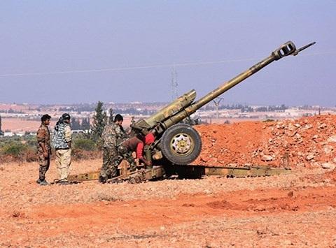 Trận chiến tại al-Bab đang được quan tâm do có sự tham gia của cả Nga và Thổ Nhĩ Kỳ (nguồn ảnh: theo An ninh thủ đô)