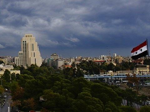 Thủ đô Damascus của Syria