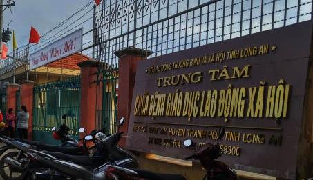 Trung tâm chữa bệnh Long An, nơi học viên bỏ trốn (ảnh: Người lao động)