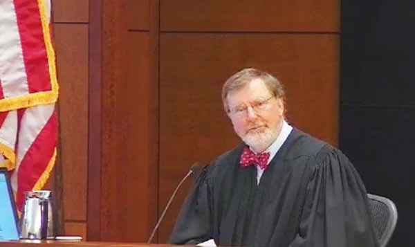 Thẩm phán James Robart. (Ảnh: NewstalkFlorida)