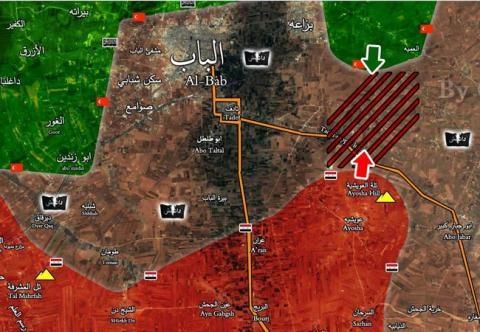 Quân đội Syria phong tỏa hoàn toàn thành phố al-Bab