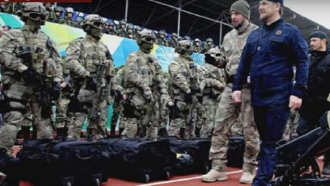 Người đứng đầu Chechnya Ramzan Kadyrov tuyên bố sẵn sàng nhận lệnh bảo vệ nước Nga