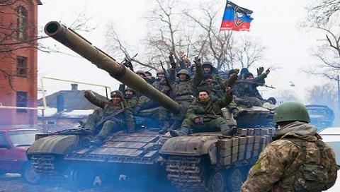 Chiến sự hiện đang bùng phát ở khu vực Donetsk của Ukraine