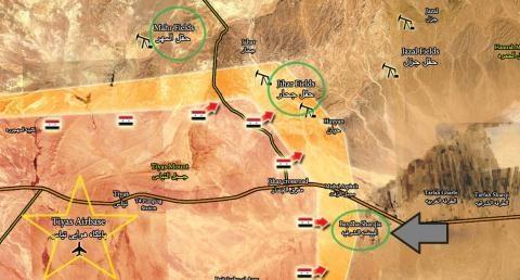 IS tăng quân, thổi Palmyra thành lò lửa - 1