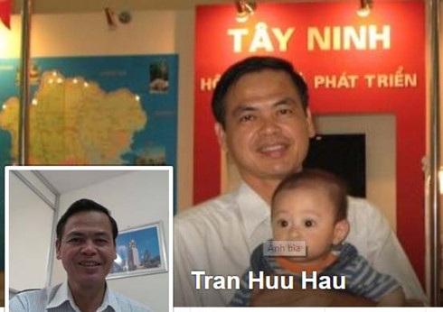Ảnh trên facebook của Bí thư Thành uỷ Tây Ninh