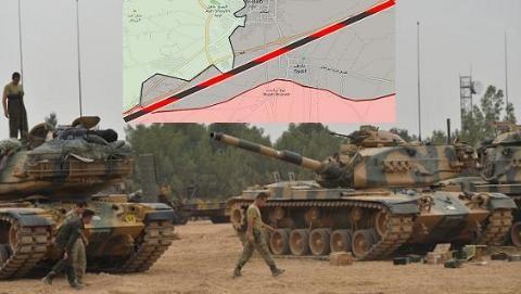 Quân đội Thổ Nhĩ Kỳ được trao quyền giải phóng al-Bab