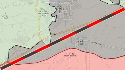 Đường ranh giới đỏ do tờ báo Hurriyet Thổ Nhĩ Kỳ đưa ra