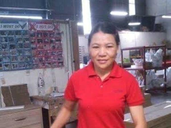Chị Hoàng Thị Hành (ảnh do chị Tạ Thị Huyền cung cấp). (Nguồn: Vietnam )