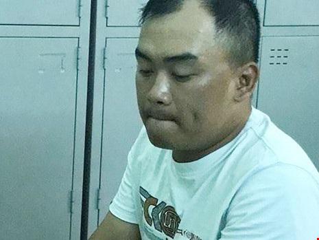 Tường khai đã trộm chiếc xe của nữ giám đốc mang về quận Phú Nhuận giấu. Ảnh: CA