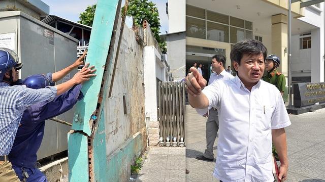 Tinh thần làm việc quyết liệt của Phó Chủ tịch UBND quận 1 Đoàn Ngọc Hải được phần lớn người dân ủng hộ nhưng cũng không ít người cho rằng ông đã làm sai quy trình và hơi quá đà. (Ảnh: Đình Thảo)