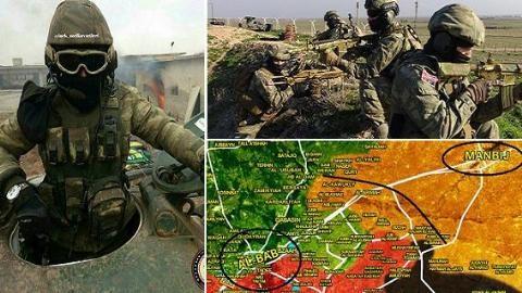Quân đội Thổ Nhĩ Kỳ đã lập căn cứ quân sự ở thị trấn al-Bab