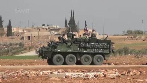 Xe thiết giáp Stryker của Mỹ xuất hiện tại Syria.