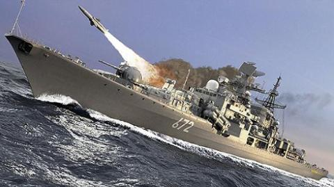 Hải quân Nga trang bị hàng loạt tên lửa chống hạm rất uy lực (Ảnh minh họa)