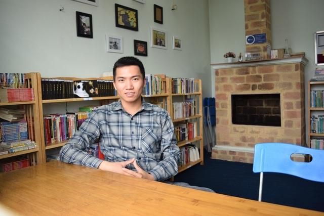Nguyễn Trường Giang- người sáng lập thư viện cộng đồng sách miễn phí Bfree