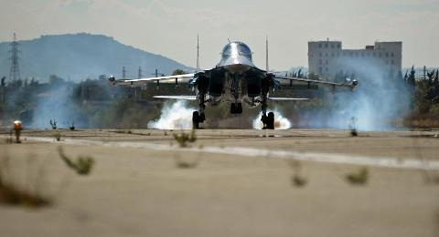 Căn cứ không quân Hmeymim của Nga ở Syria