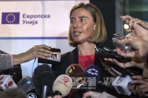 Đại diện cấp cao phụ trách chính sách đối ngoại của EU, bà Federica Mogherini