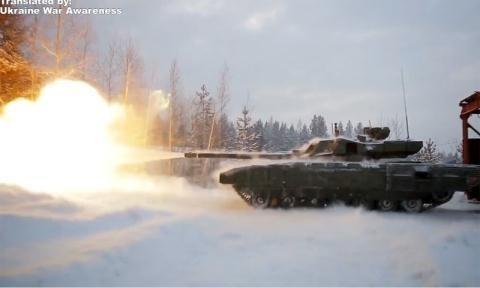 Nga thử nghiệm tăng Armata.