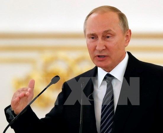Tổng thống Nga Putin. (Nguồn: EPA/TTXVN)