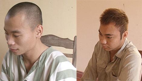 Hai đối tượng trong ổ nhóm bị bắt giữ.