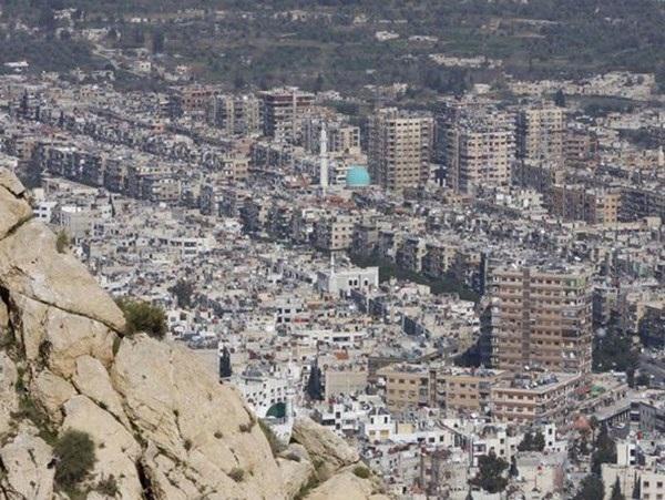 Một góc thành phố Damascus. (Nguồn: AP)