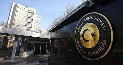Trụ sở Bộ Ngoại giao Thổ Nhĩ Kỳ. Ảnh: Getty Images.