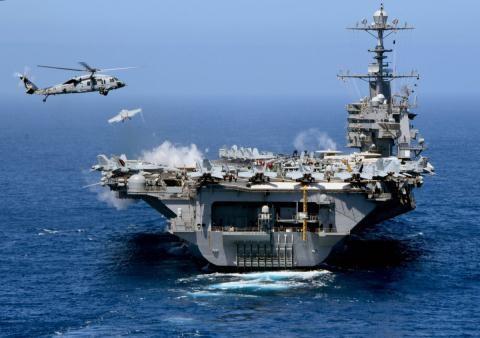 Tàu sân bay USS George H. W. Bush.