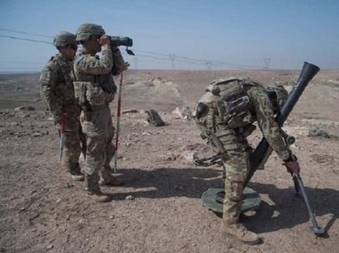 Mỹ đã triển khai lực lượng đến gần thành phố Raqqa