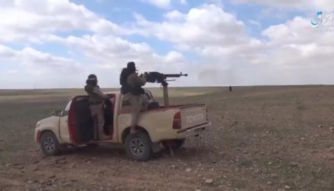 Các tay súng khủng bố IS bắn phá tuyến đường huyết mạch Hama - Aleppo