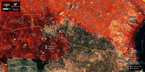 IS bỏ chạy khỏi Deir Hafer sau khi quân đội Syria khép chặt vòng vây