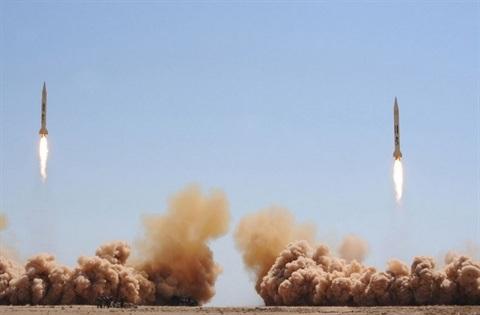 Tên lửa đạn đạo Scud của Syria.