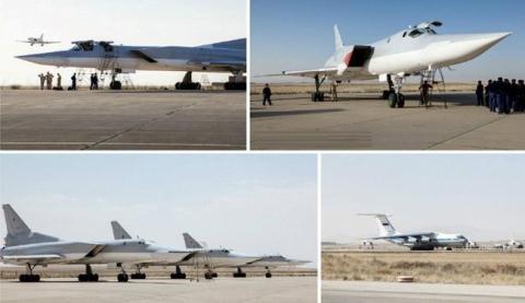 Máy bay Nga dùng căn cứ quân sự tại Iran không kích khủng bố hồi năm 2016.