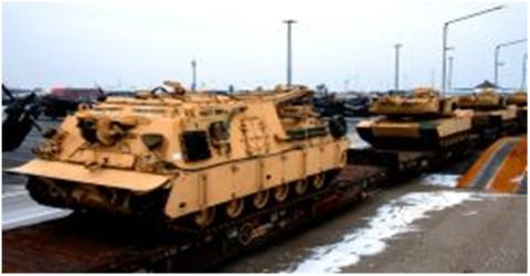 Mỹ sẽ triển khai thêm sư đoàn tăng thiết giáp ở châu Âu nhằm mục đích hiện thực hóa tuyên bố của Tổng thống Donal Trump.