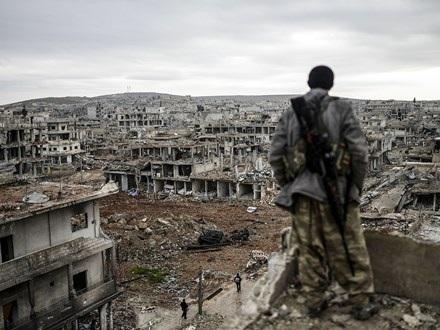 Khủng hoảng chính trị và nội chiến tàn phá đất nước Syria. Ảnh: Independent
