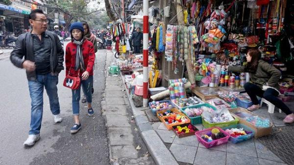 Dẹp vỉa hè, kinh doanh trên nhiều tuyến phố bị ảnh hưởng