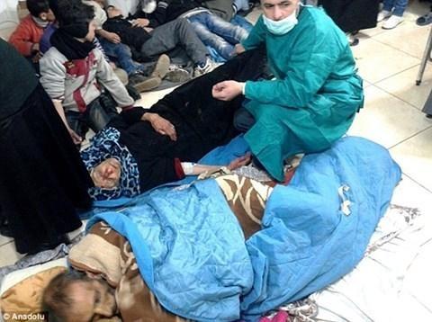 Thành phố Deir Ezzor đang trải qua cuộc khủng hoảng nhân đạo tồi tệ