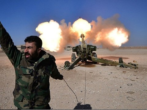 Quân đội Syria nã đạn pháo và tên lửa tiêu diệt Al-Nusra ở Daraa