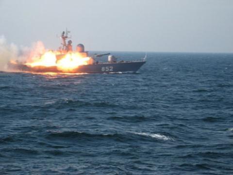 Hải quân Nga tập trận.