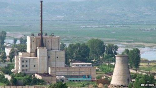 Cơ sở hạt nhân Dong Pieng của Triều Tiên.Ảnh: Reuters