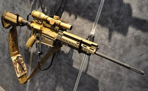Heckler & Koch G28 sẽ có tên gọi là M110A1 trong quân đội Mỹ