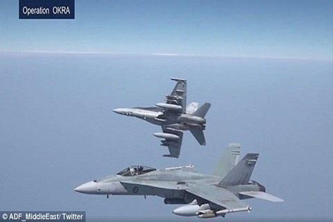 Máy bay chiến đấu F/A-18A Hornet của Australia