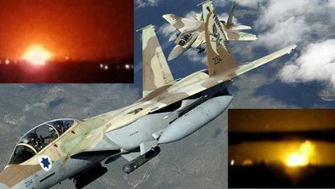 Israel tiếp tục không kích vào thủ đô Damascus của Syria