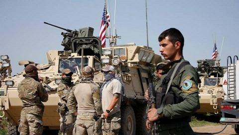 Mỹ đã nhiều lần điều quân hỗ trợ người Kurd trước đòn đánh của Thổ Nhĩ Kỳ